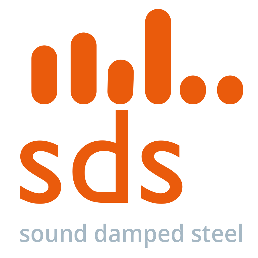 Noise and vibration damping materials, sheets and metals