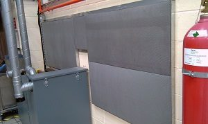 acoustic absorbent wall panels
