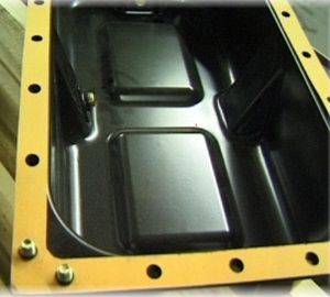 automotive damped sump