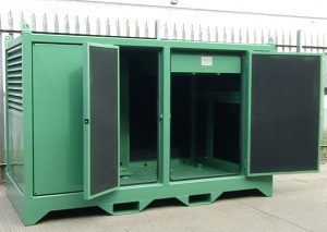 compressor acoustic enclosure