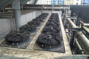 HVAC A/C and fan damping